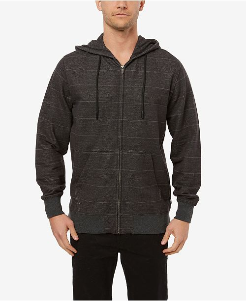 O'Neill Men's Whitechapel Stripe Zip Up