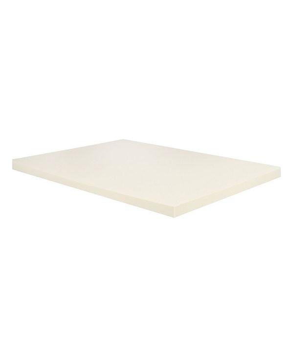"""Payton 2"""" High Density Foam Mattress Topper, Twin"""