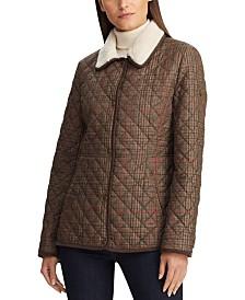 Lauren Ralph Lauren Sherpa-Lined Quilted Jacket