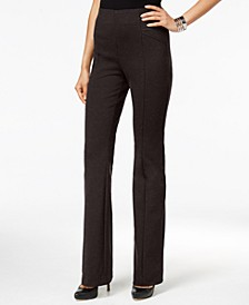 INC High-Waist Bootcut Pants, Created for Macy's