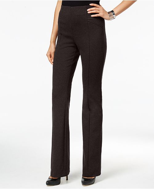 INC International Concepts INC Pull-On Bootcut Pants, Created for Macy's