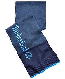 Timberaland Men's Logo Colorblocked Scarf