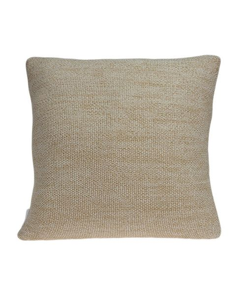 Parkland Collection Gila Transitional Tan Pillow Cover With Down Insert