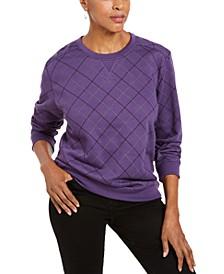 Printed Crewneck Sweatshirt, Created For Macy's