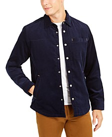 Men's Quilted Corduroy Shirt Jacket, Created For Macy's