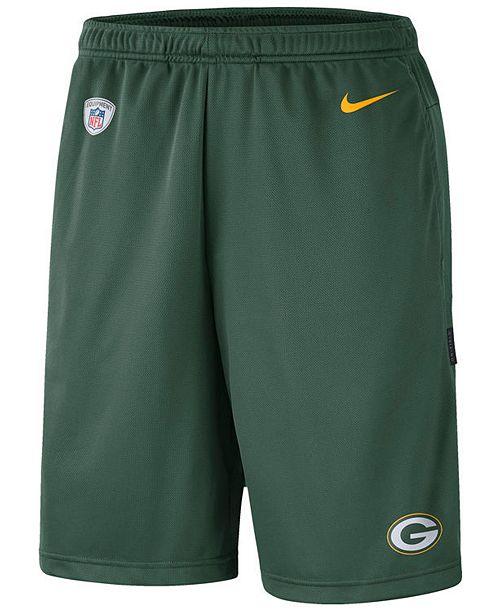 Nike Men's Green Bay Packers Coaches Shorts