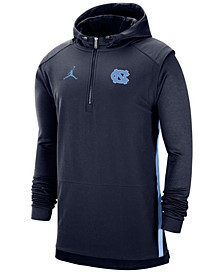 Men's North Carolina Tar Heels Pregame Quarter-Zip Pullover
