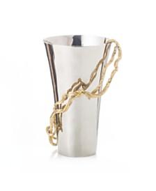 Michael Aram Wisteria Gold Medium Vase