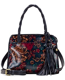 Fall Tapestry Small Paris Satchel
