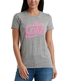 Cotton Diet Coke Logo T-Shirt