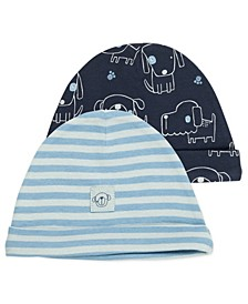 Baby Boy 2-Pack Caps