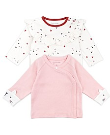 Baby Girl 2-Pack Long Sleeve Fashion Tops