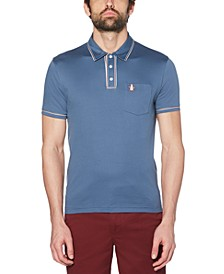 Men's Slim-Fit Earl 3D Polo Shirt