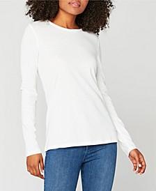 Basic Scoopneck Long Sleeve Shirt