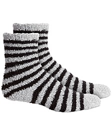 Striped Super Soft Butter Crew Socks, Created for Macy's