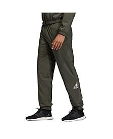 Men's Metallic Tapered Sweatpants