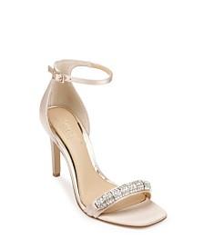 Jewel Badgley Mischka Ranya Ornamented Sandals
