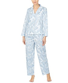 Petite Cotton Printed Pajama Set