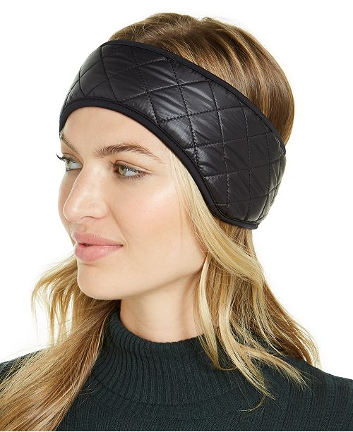 UGG® Quilted Faux-Fur-Trim All Weather Headband