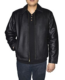 Retro Leather Men's Jacket