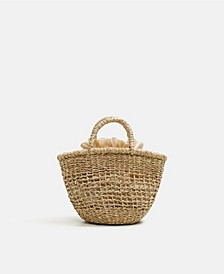 Handmade Mini Basket Bag