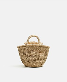 Mango Handmade Mini Basket Bag