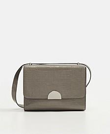 Croc-Effect Bag