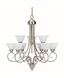 Troy 9-Light Hanging Chandelier