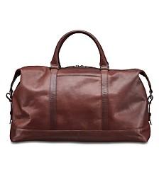 Mancini Buffalo Collection Carry on Duffle Bag