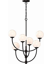 Lawrence 6-Light Hanging Chandelier