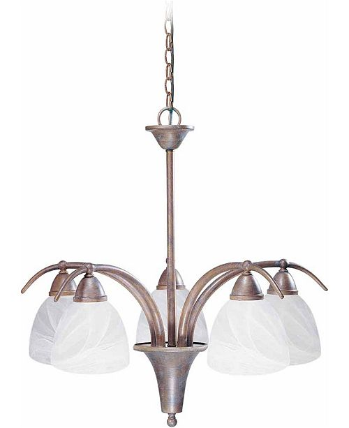 Volume Lighting Kora 5-Light Hanging Chandelier