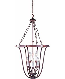 Minster 6-Light Candle-Style Hanging Pendant