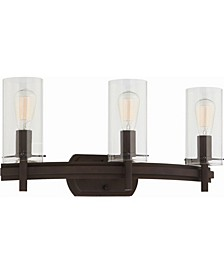 Regina 3-Light Bathroom Vanity Wall Sconce or Wall Mount