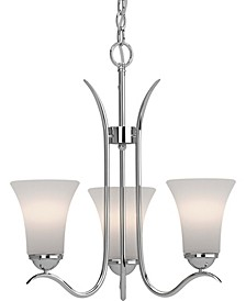 Alesia 3-Light Hanging Chandelier