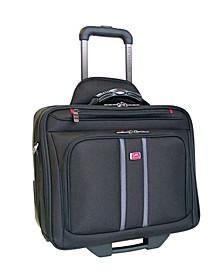 Biztech Collection Wheeled Laptop/ Tablet Slim Briefcase
