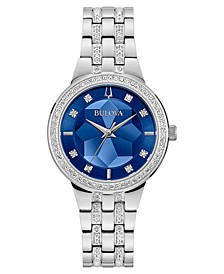 Women's Phantom Stainless Steel & Crystal Bracelet Watch 32.5mm