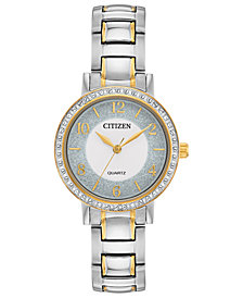 Citizen Women's Quartz Two-Tone Stainless Steel Bracelet Watch 30mm