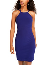 Morgan & Company Juniors' Strappy-Back Bodycon Dress
