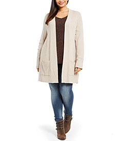 Plus Size Thermal Cardigan, Created For Macy's