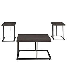 Ashley Furniture Airdon Table Set of 3