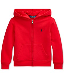 Little Boys Full Zip Hoodie