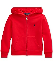 Polo Ralph Lauren Toddler Boys Fleece Hooded Sweatshirt