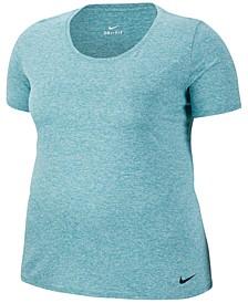 Plus Size Dry Legend Training T-Shirt