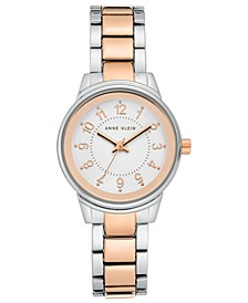 Women's Two-Tone Bracelet Watch 30mm