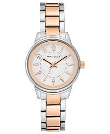 Anne Klein Women's Two-Tone Bracelet Watch 30mm