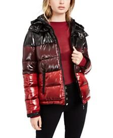 GUESS Gina Ombré Puffer Coat