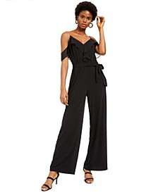 INC Ruffled Jumpsuit, Created For Macy's