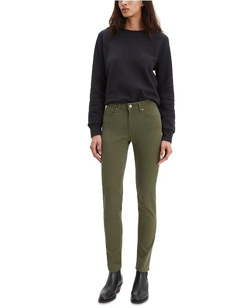 Levi's Classic Mid-Rise Skinny Jeans