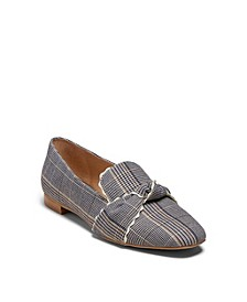 Holly Plaid Loafers