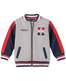Baby Boys Colorblocked Baseball Jacket
